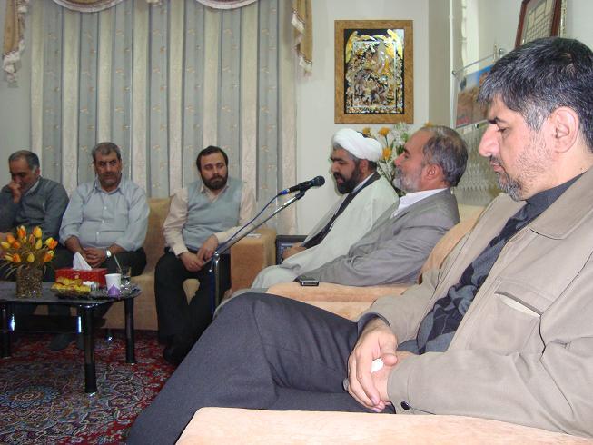 جلسه هیئت الوارثین - شهید عنایت الله رزاقی